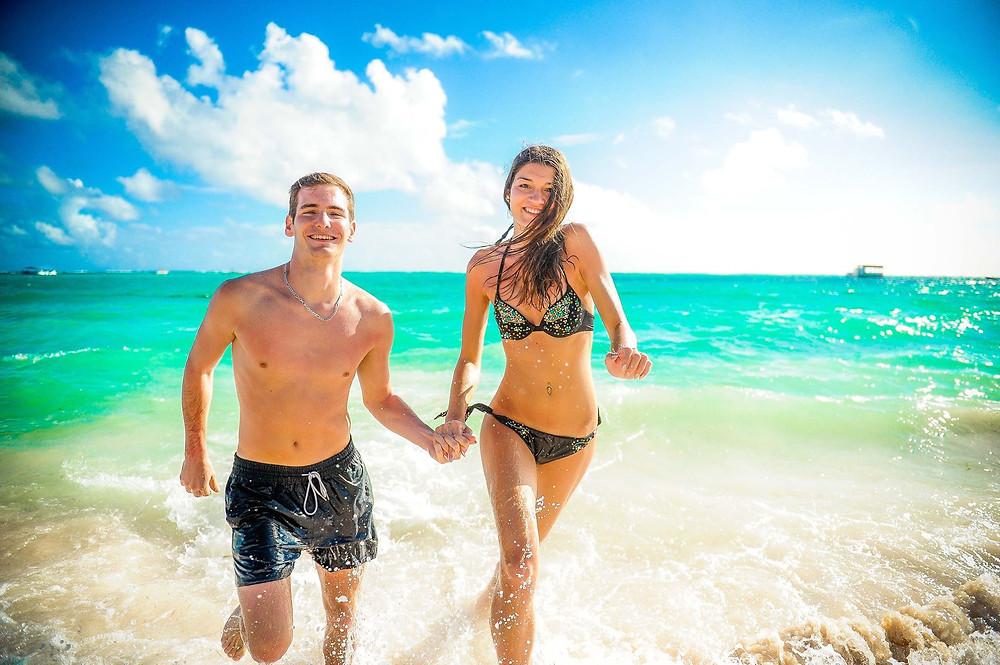 Sesión de fotos en pareja en Punta Cana