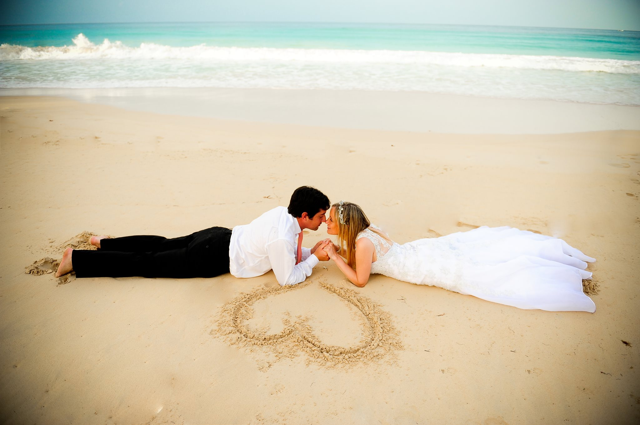 Sesion de foto de boda en Punta Cana