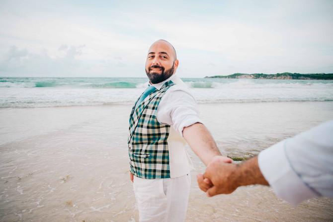 Sesion Post Boda en Punta Cana- Same Sex