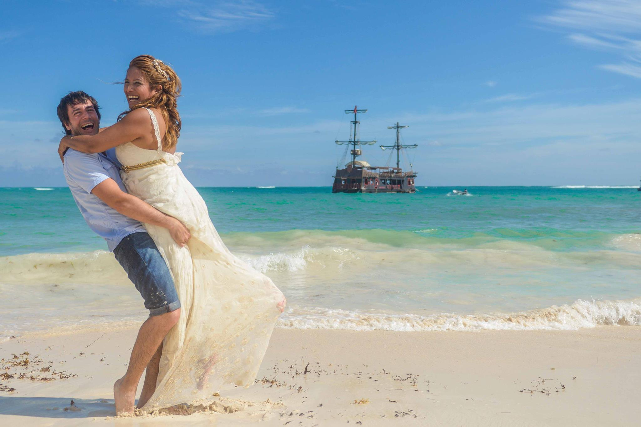 Trash the dress en Punta Cana
