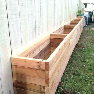 wood-outdoor-planters-unique-tall-wooden