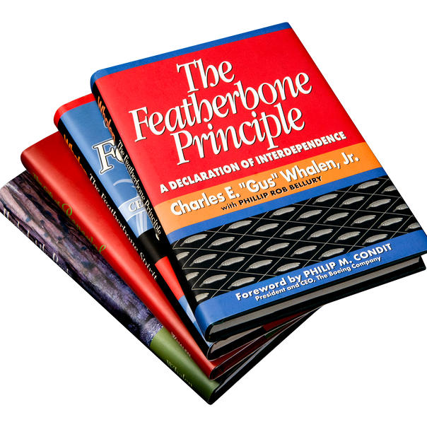 The Featherbone Principle, The Featherbone Spirit, The Gift of Renewal and Hooked at the Roots
