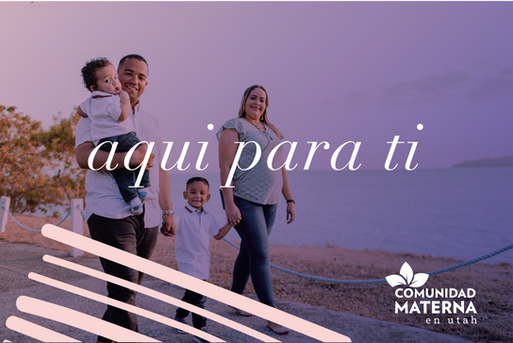 Comunidad Materna en Utah Ad