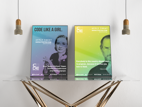 Code to Success Posters