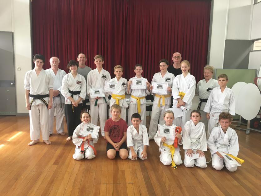 Bardon Junior grading 2018