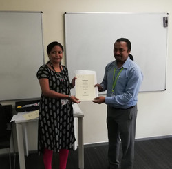 Honoured by British Council For IELTS