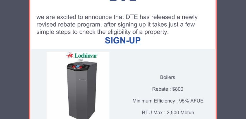 DTE Energy Rebate