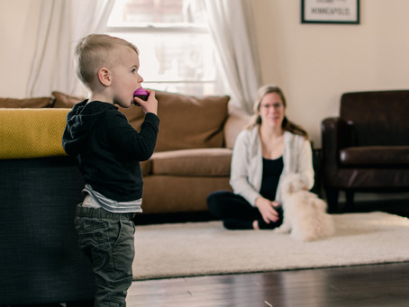 Laid Back In-Home Family Photos in Minneapolis: The Haagensons