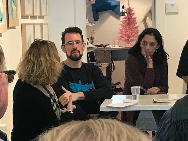 From left to right Melanie Carr, Matt Best, and Rashmi Talpade