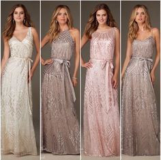 Mori Lee Metallic Bridesmaids dresses