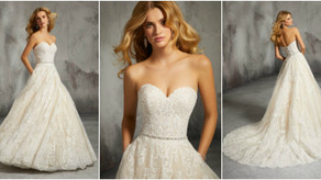 New samples for the curvy bride!