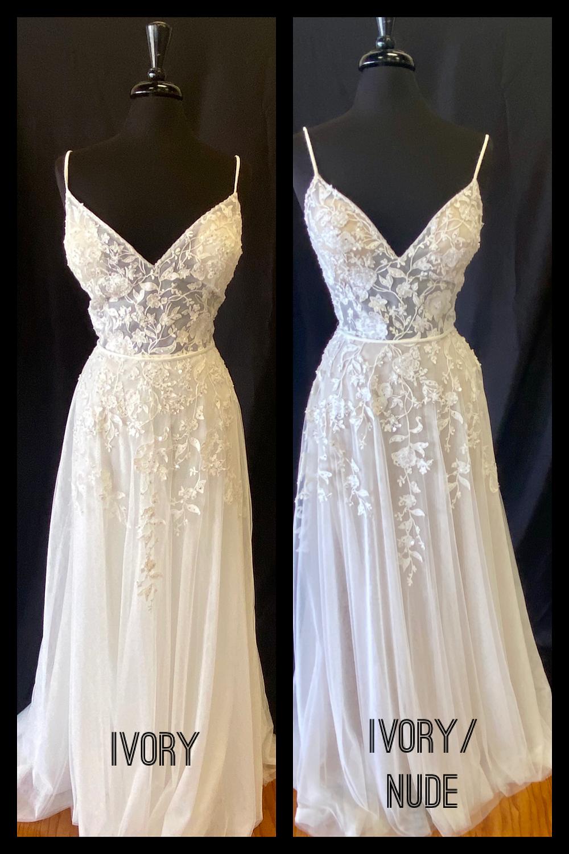Boho wedding dress Austin, Texas