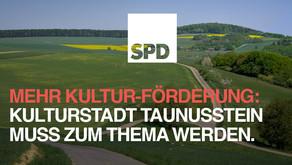 """Dachmarke """"Kulturstadt Taunusstein"""" soll auf die Tagesordnung der Stadtpolitik"""