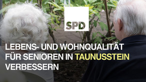 SPD will Lebens- und Wohnqualität für Senioren in Taunusstein verbessern