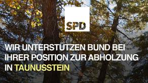 SPD unterstützt den BUND Taunusstein