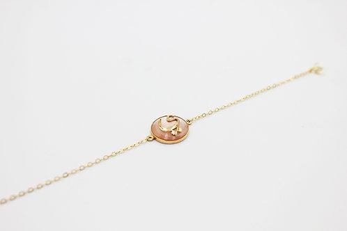 Pearl Shield Bracelet