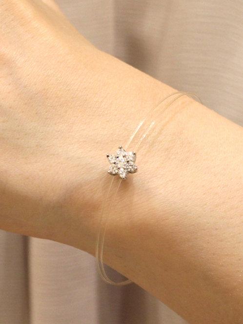 6 Petal Flower Bracelet