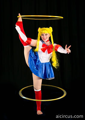 Sailor Moon Hula Hoops