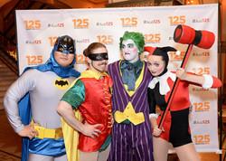 batman, Robin, Joker, Harley