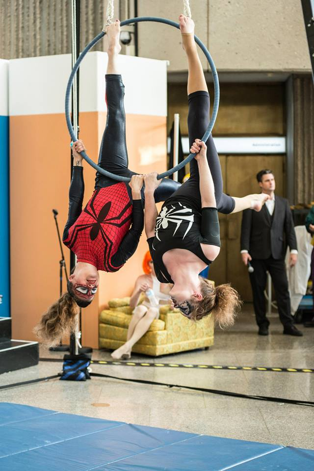 Spiderwoman & Venom