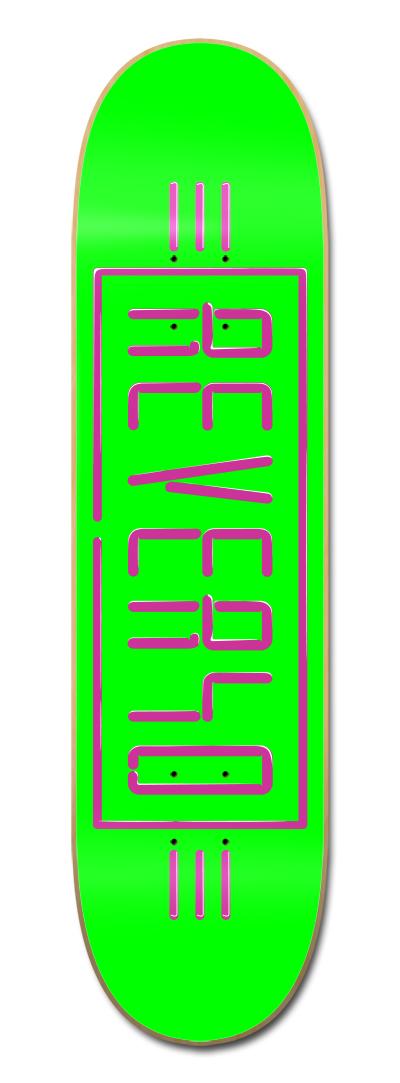 REVERSO SKATEBOARD NEON VERDE