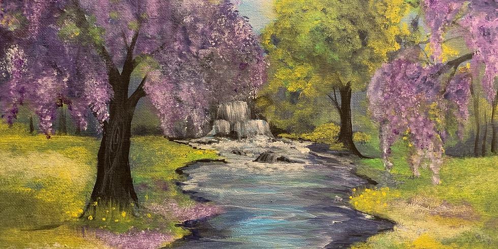 Sunday Spring Landscape