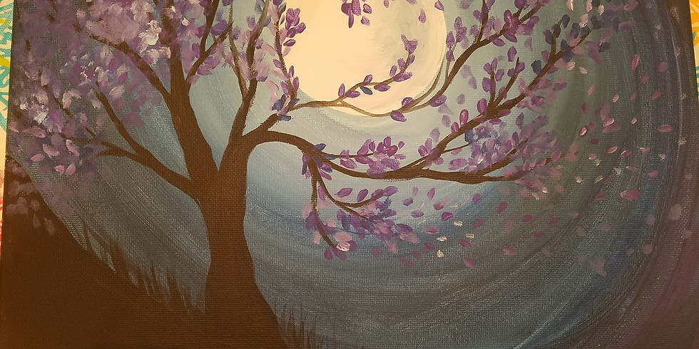 CLASS FULL! - BG Sip N Paint- Art for Alzheimer's @ Mariahs