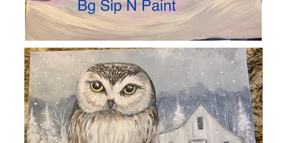Thanksgiving Online Paint Party! 2 Paintings!