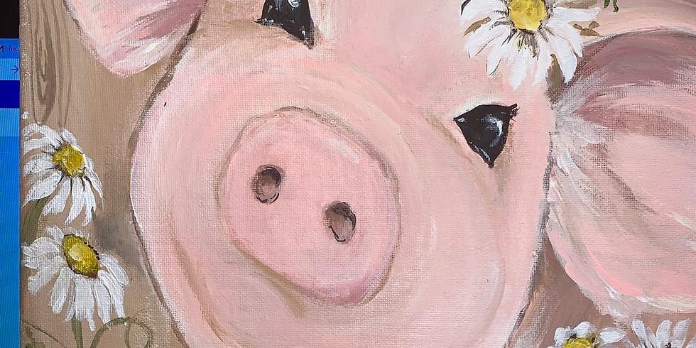 CLASS FULL - Daisy the Pig 21+