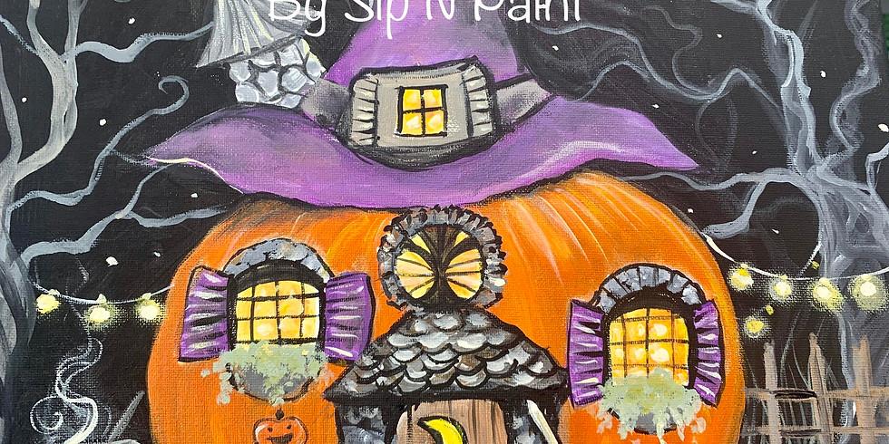 Sold OUT Pumpkin Fairy House @ Bluegrass Vineyard