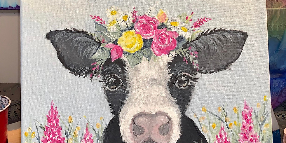 Sold Out Spring Baby Cow