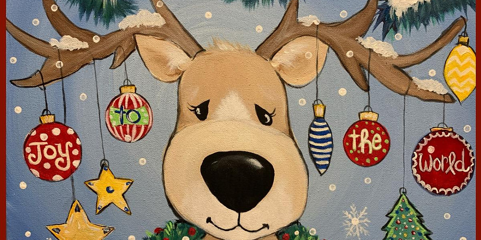 Sold out! Blitzen, Moodolf and a Paint Night!