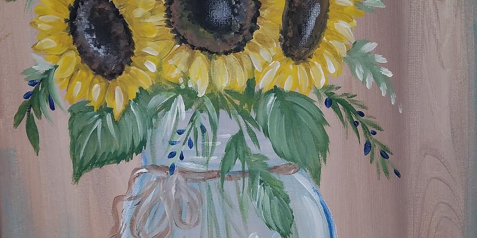 Mason Jar Bouquet