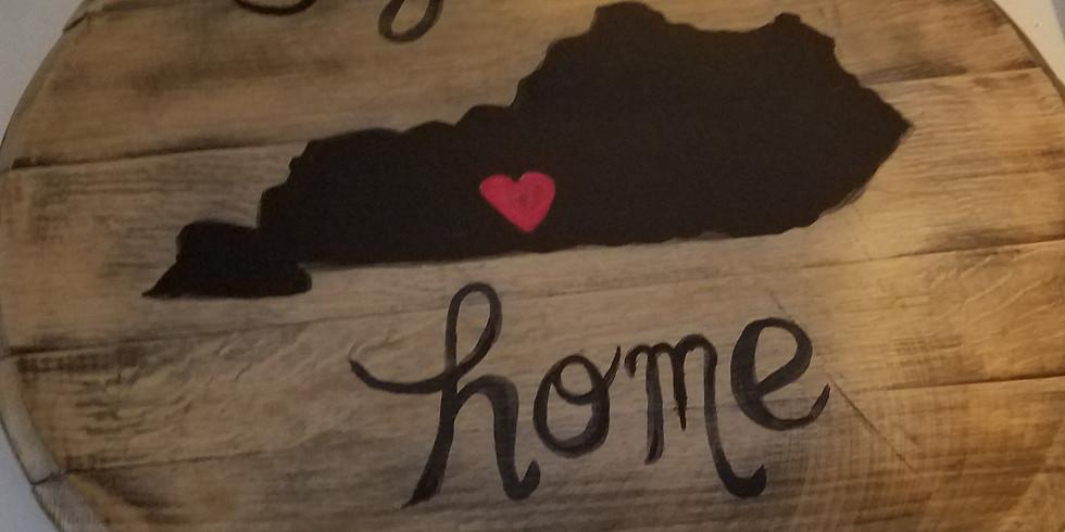 My  Ol Kentucky Home Bourbon Lid