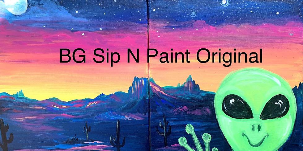 Alien Rescue Couples Paint