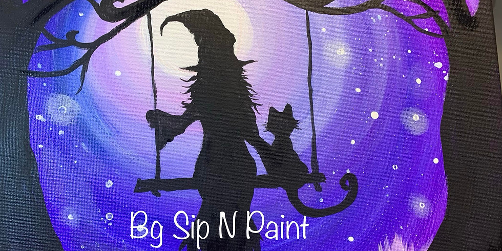October 30th Halloween Online Paint Party!