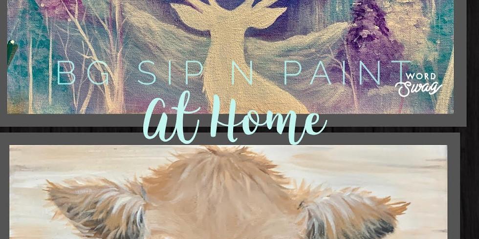 December Bg Sip N Paint at Home - 2 paintings until Jan. 4th