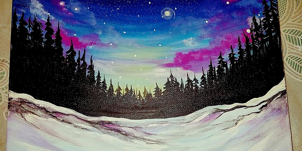 Snowy Starry Night @ Mariah's