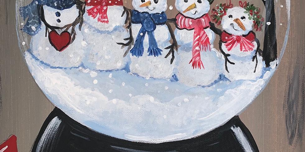 JOIN THE WAITING LIST Custom Snow globe Family