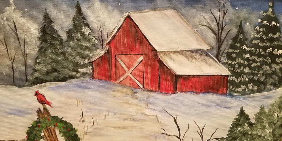 Snowy Barn @ Mariahs