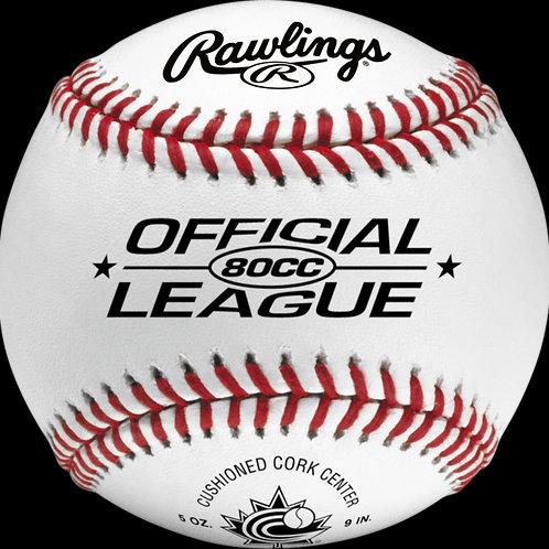 Rawlings 80CC Baseballs