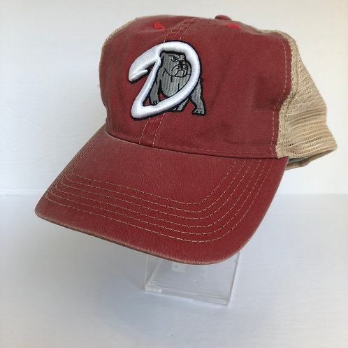Dawgs Pacific Vintage Red Cap