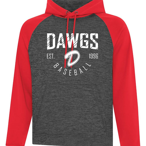 Dawgs Two Color Performance Hoody