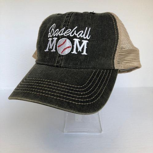 Baseball Mom Bal Cap