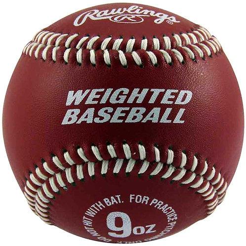 Rawlings Weighted Baseball 9 oz.