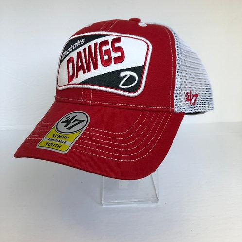Dawgs 47 Brand Youth Trucker Hat