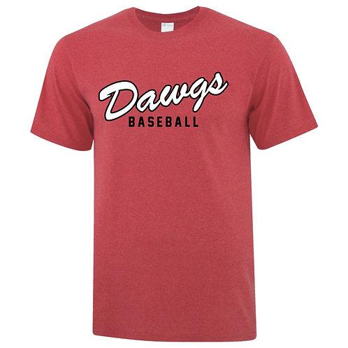 Dawgs Retro Red T-shirt 6400