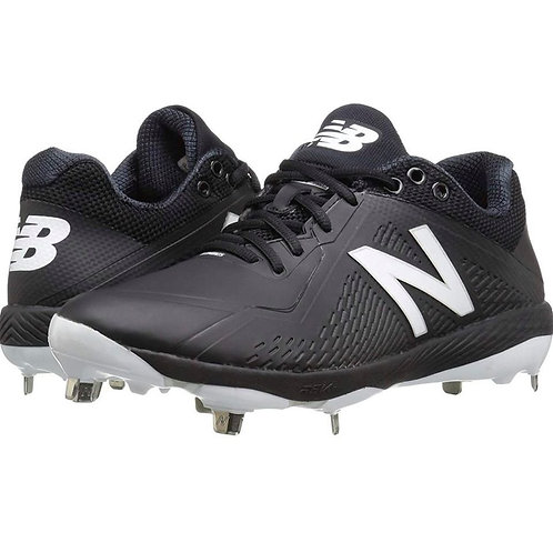 New Balance L4040BK4 Baseball Shoes - Black
