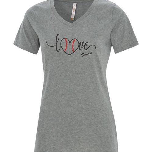 Dawgs Love Ladies Tshirt