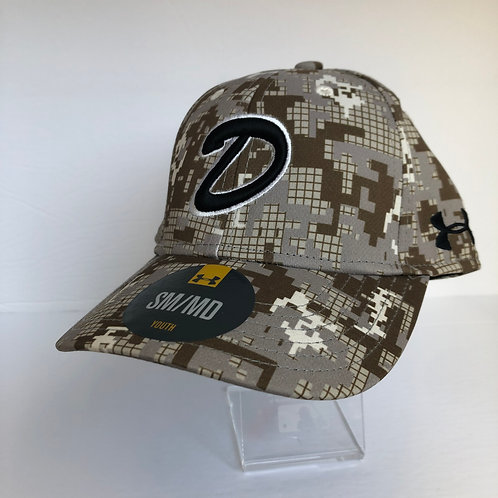 Dawgs Under Armour Digital Camo Hat Youth